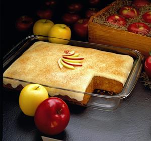 Torta de Manzana y Crema