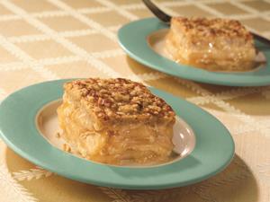 Pastel de Manzana y Migajas