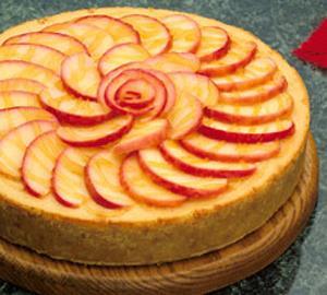 Cheesecake de Manzana y Canela