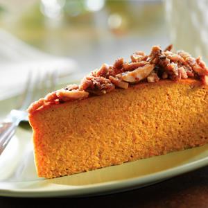 Torta de Praliné y Calabaza