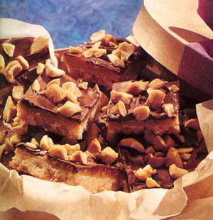 Barritas de Chocolate y Nueces