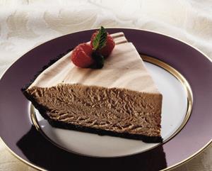 Pastel de Mousse de Chocolate Helado