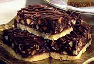Barritas de Almendra con Chocolate
