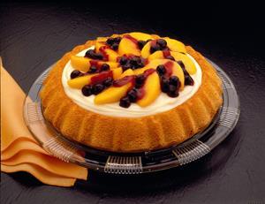 Shortcake de Arándanos y Duraznos