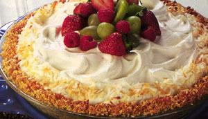Coconut Almond Cream Pie