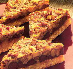 Barritas con Nueces, Arce y Chocolate