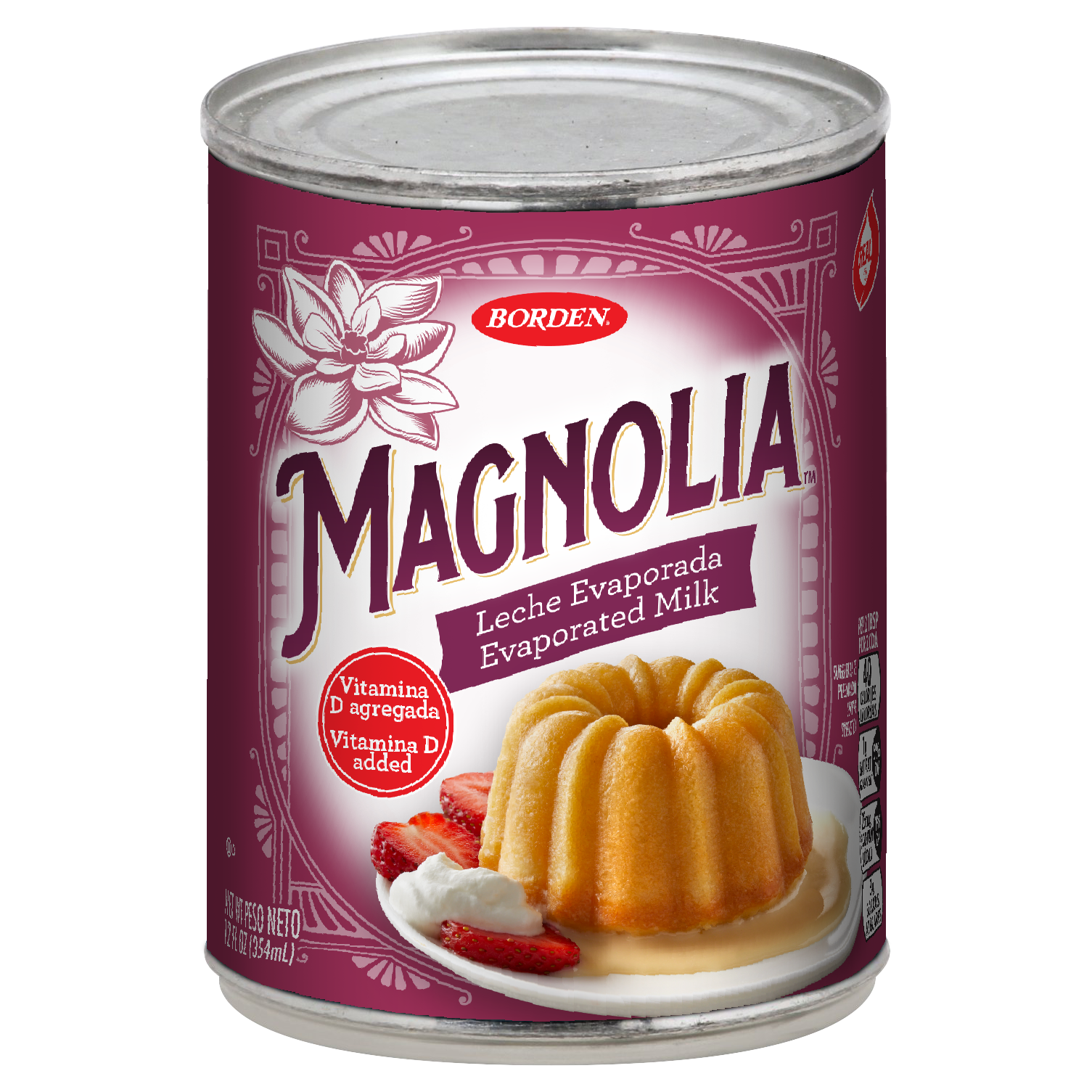 Leche Evaporada Magnolia Evaporated Milk