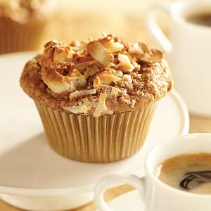Espresso Macaroon Muffins