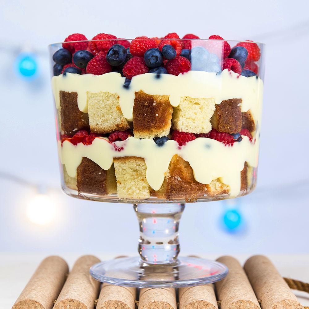 Trifle Patriótico de Bayas