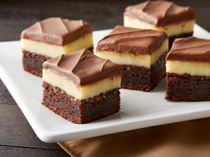 Brownies en Capas con Cheesecake