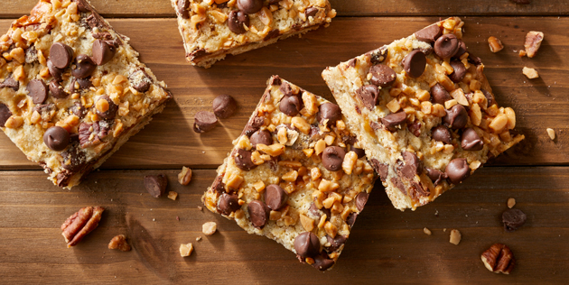 Chocolate Chip Toffee Bars