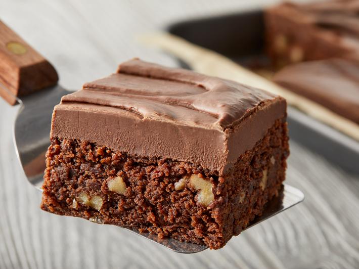 Brownies con Fudge