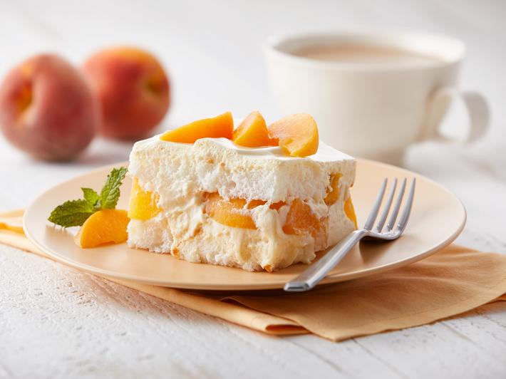 Torta de Durazno y Crema