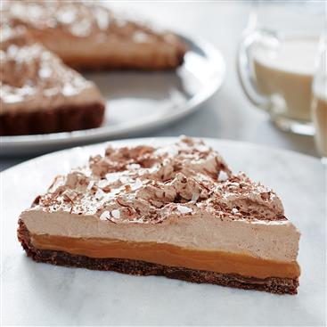 Double Chocolate Caramel Tart