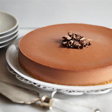 Cheesecake de Chocolate Doble