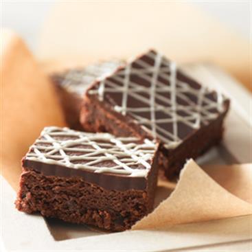 Brownies de Chocolate Triple