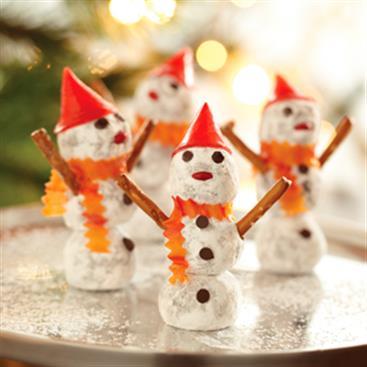 Muñecos de Nieve de Trufas
