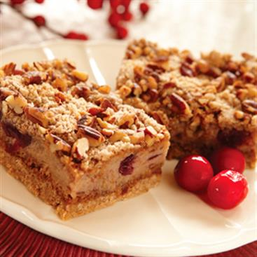Cranberry Spice Bars