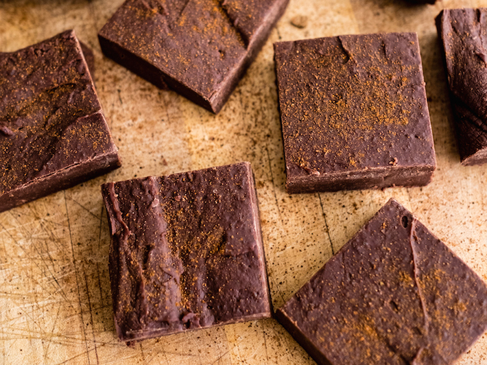 Spicy Mexican Chocolate Fudge