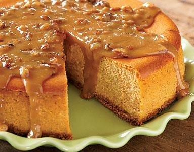 Cheesecake de Calabaza y Arce