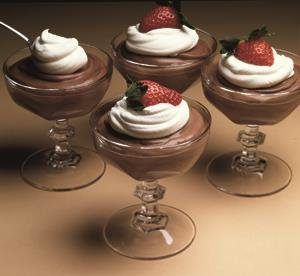 Mousse Cremoso de Chocolate