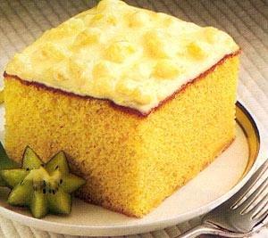 Deluxe Pineapple Cake