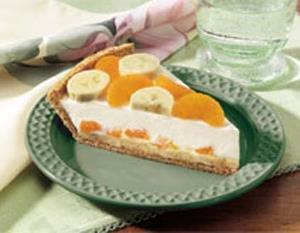 Pastel Cremoso de Mandarina y Banana