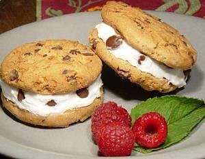Eagle Brand® Chocolate Chip Ice Cream Sandwiches