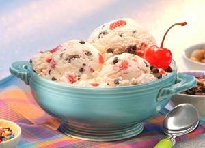 Cherry Cordial Ice Cream