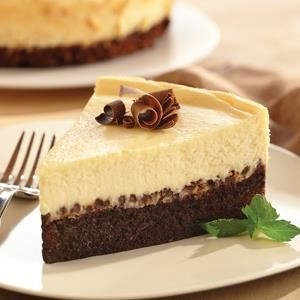 Cheesecake Brownie con Chocolate