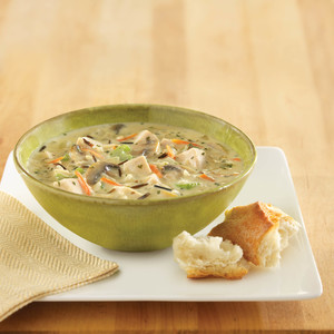 Creamy Chicken and Wild Rice Chowder