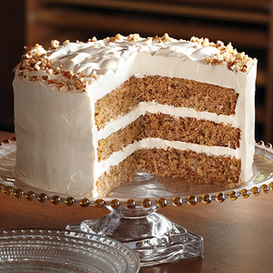 Spice Cake with Caramel Cream