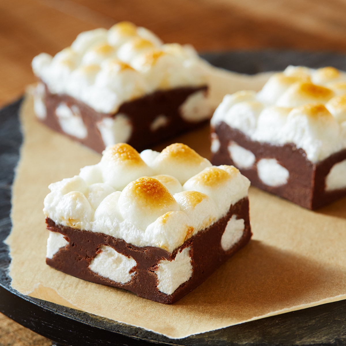 Hot Chocolate Marshmallow Fudge