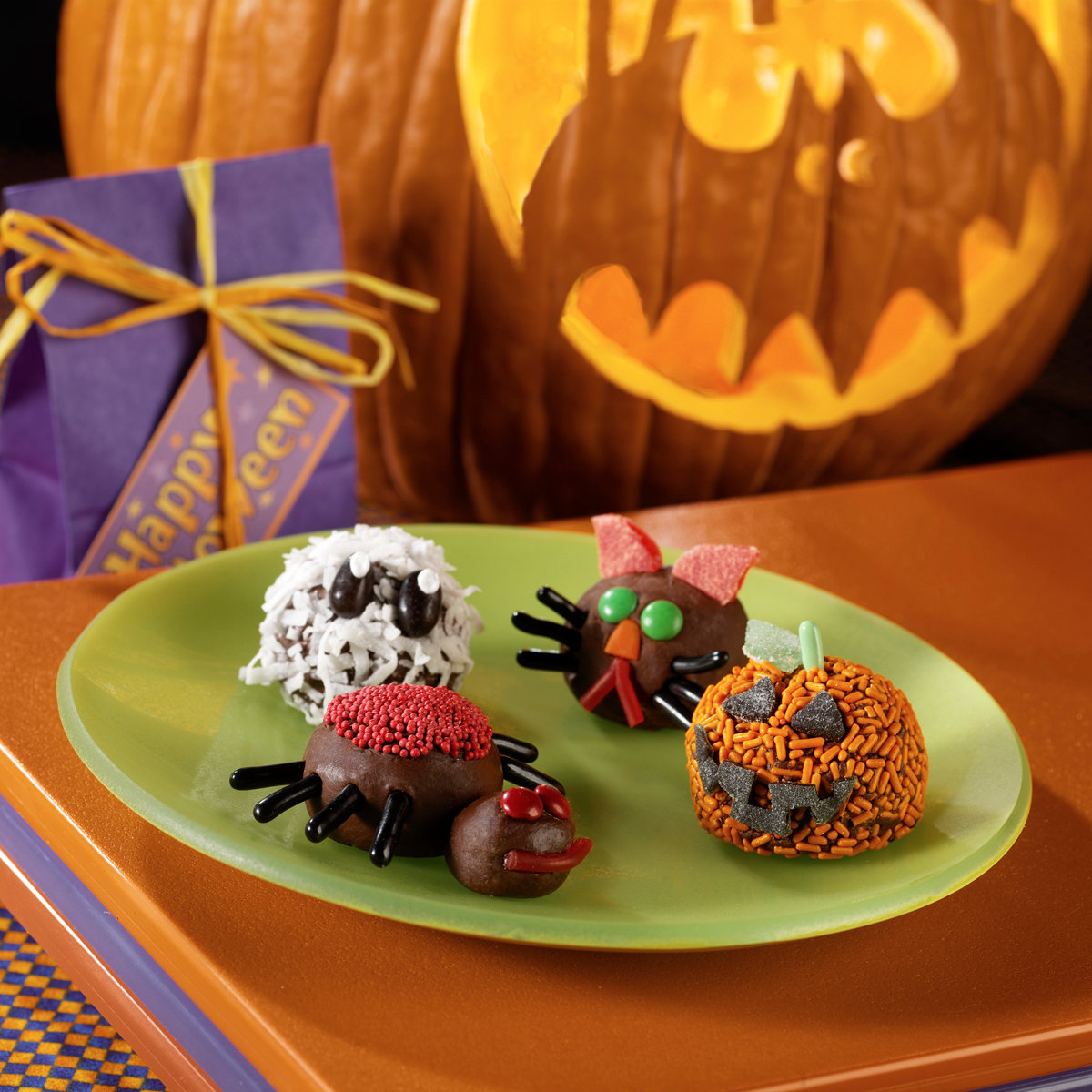 Spooky Fudge Treats