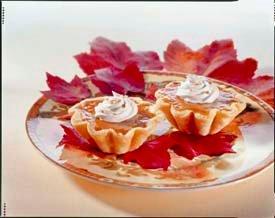 Harvest Pumpkin Tarts