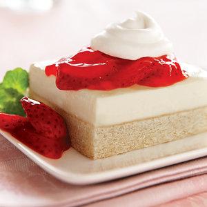 Shortcake de Queso Crema y Fresas