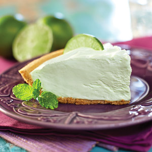 Pastel de Crema de Limón Verde