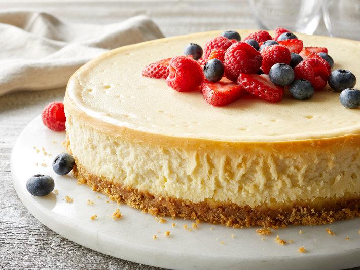 Cheesecake Cremoso Horneado