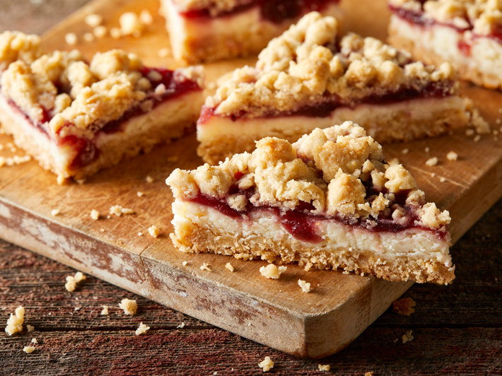 Cranberry Cream Cheese Bars
