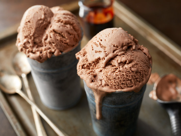 Easy Homemade Chocolate Ice Cream