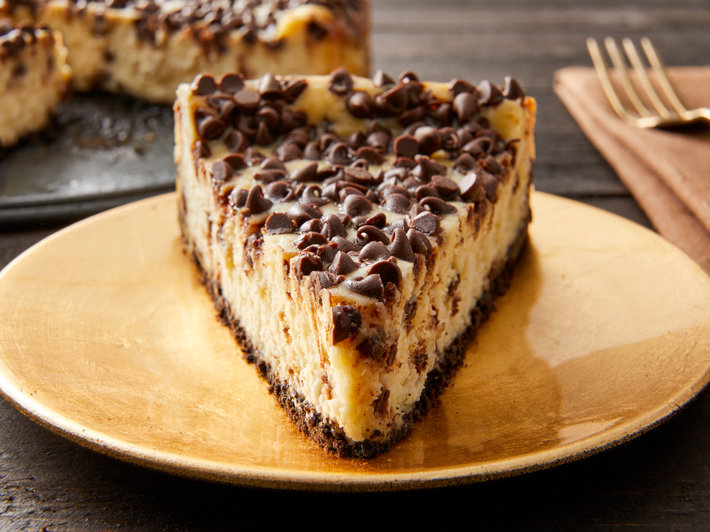 Cheesecake con Chips de Chocolate Eagle Brand®