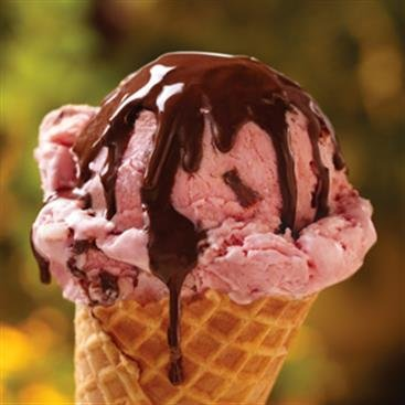 Chocolate Strawberry Ripple Ice Cream