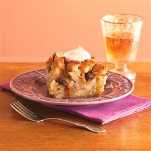Cinnamon Raisin Bread Pudding (Budin)