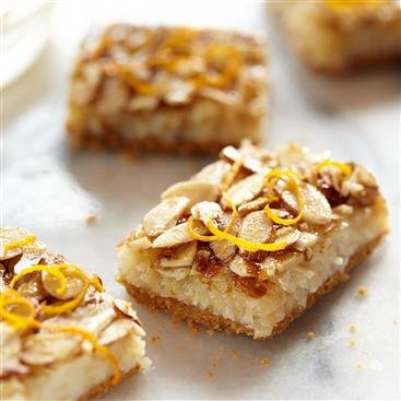 Coconut Orange Almond Squares