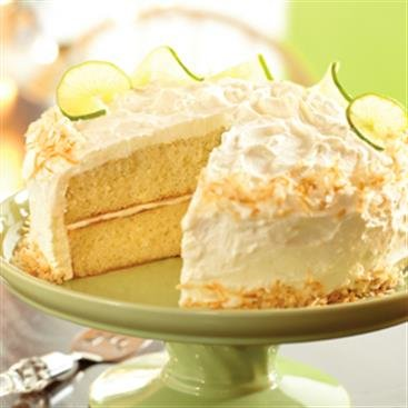 Torta Tres Leches de Coco y Limón Verde