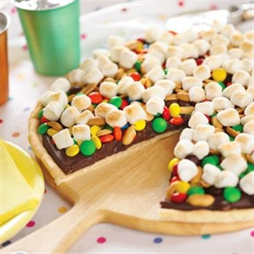 Cookie Candy Pizza