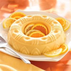 Creamy Fruited Gelatin