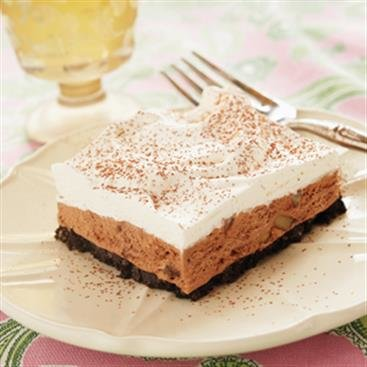 Double Chocolate Ice Cream Squares