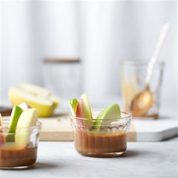 Easy Caramel Apple Dippers