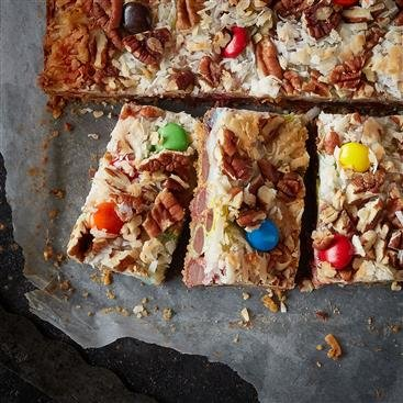 Festive Magic Cookie Bars